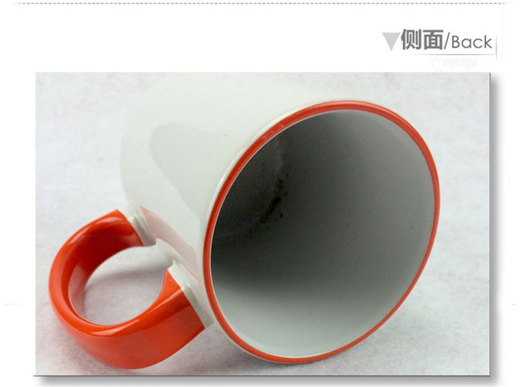 Top selling attractive style ceramic mug without handle with different size