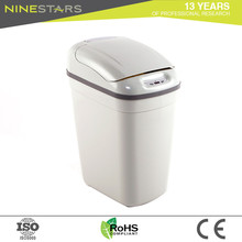Sale wholesale soft close plastic cream 20l waste bin