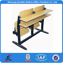 Middle primary school student metal frame children double desk and chair