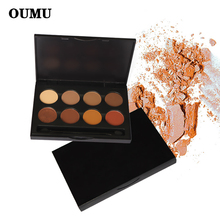 OEM/ODMNatural Eye Makeup 8 Colors Eye Shadow Makeup Shimmer Matte Eyeshadow Palette