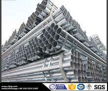 pre galvanized round carbon steel water pipe gi gas pipe line fittings