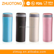 Premium filter inside double wall stainless steel tea thermos