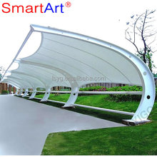 Canvas Canopy Carport For Plaza