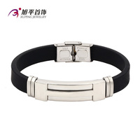 B0421011- xuping latest designs simple men's jewelry leather bangles
