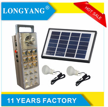 The most popular new product 5W portable home solar power lighting system kit for Africa