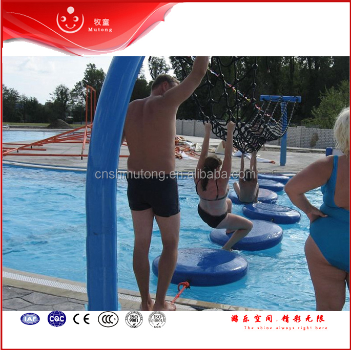 2016 Aqua Amusement Park Swimming Pool Playground Float Water Play Structure for Sale