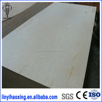 Furniture grade E2 glue 1220x2440mm birch plywood