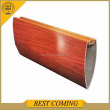 Aluminum Alloy outdoor decorative suspended teak wood ceiling