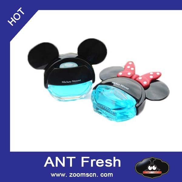 ANT Fresh CAR AIR FRESHENER BASE APPLE ORANGE LEMON OR CHERRY NOVELTY FRAGRANCE