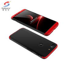 Hard PC 3 in 1 red smartphone case for one plus 5t case covers for oneplus 5t case