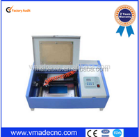 China factory mini 3020 co2 laser engraving machine for rubber stamp