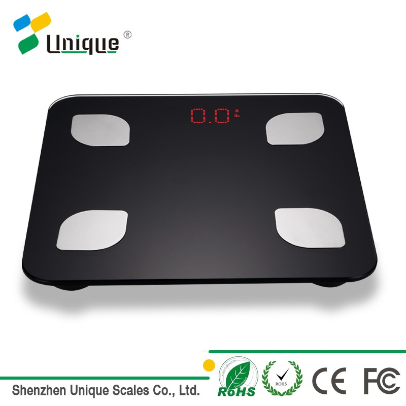 180kg Digital Bluetooth Bathroom Body Fat Scale with Free App for iOS and Android Devices