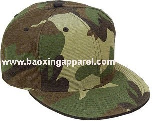 big brim camo army baseball cap