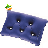 Outdoor Travel Cushion Inflatable Air Pillow with Five Brathing Holes