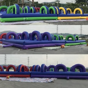 2018 New arrived sports event outdoor inflatable maze for racing game