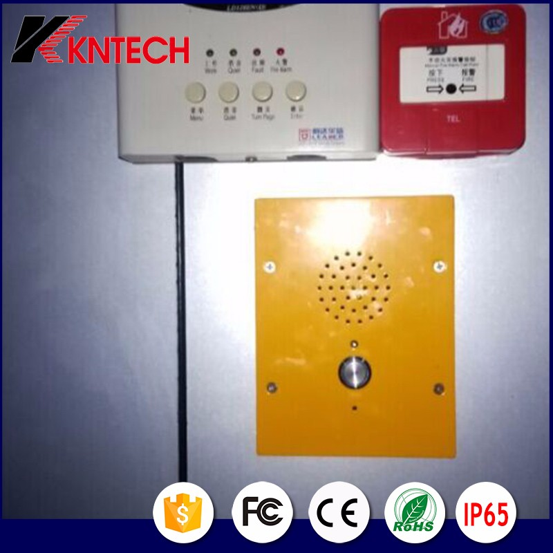Intercom and Industrial IP Phone Elevator Emergency Phone