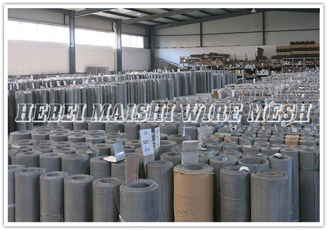 synthetic mesh/stainless steel wire mesh netting