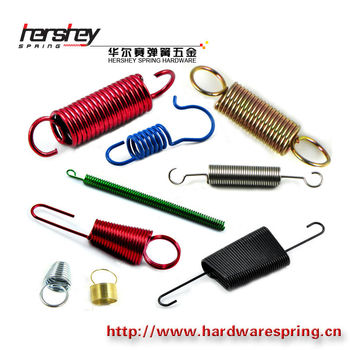 adjustable extension spring helical coiled extension spring