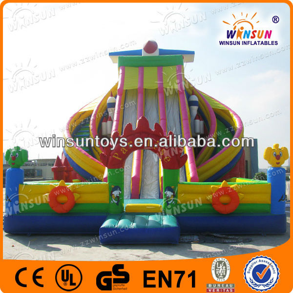 Great sales all sports Ocean Paradise Slide art desig inflatables