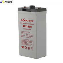 2V 200Ah AGM battery rechargeable for solar controllers inverters