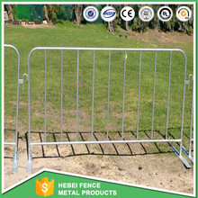 China factory steel barricade/road barrier/Event Used Barricade Fencing with Removable