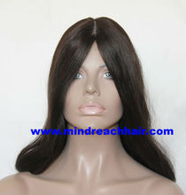 2016 super Kosher certificate Top quality Mongolian virgin hair Jewish wig in stock with beautiful layer