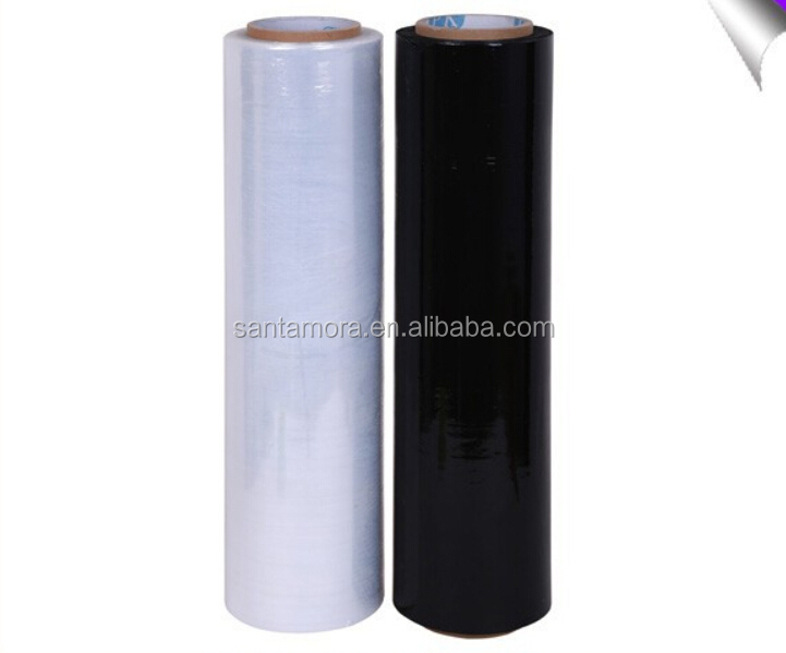 Transparent Soft Packaging LLDPE Plastic Cast Stretch Film
