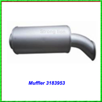 High quality muffler 3183953 for Volvo truck FH/FM12