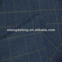 SDL1002393 48.6%T 23.8%R 27.6%CD Shrink-Resistant check fabric