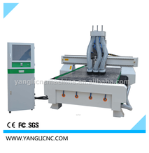 1.3*2.5M 4*8ft 3kw Woodworking CNC Router Machine Vacuum Inhalling Table (YL4S-1325)