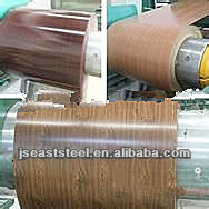 wood texture pre-painted zinc steel sheet in coil, Home appliance