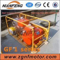 Portable diesel generator set, track single cylinder engine, water cooled
