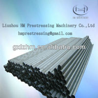 prestressed round galvanized metal corrugated pipe/bellows