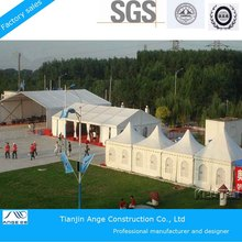 truck and car trailer marquee tent for highway travelling