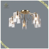 Hot Sale Good Price Fancy Ceiling Lamp Design Ceiling Lights, Antique Brass Glass Ceiling Decoration