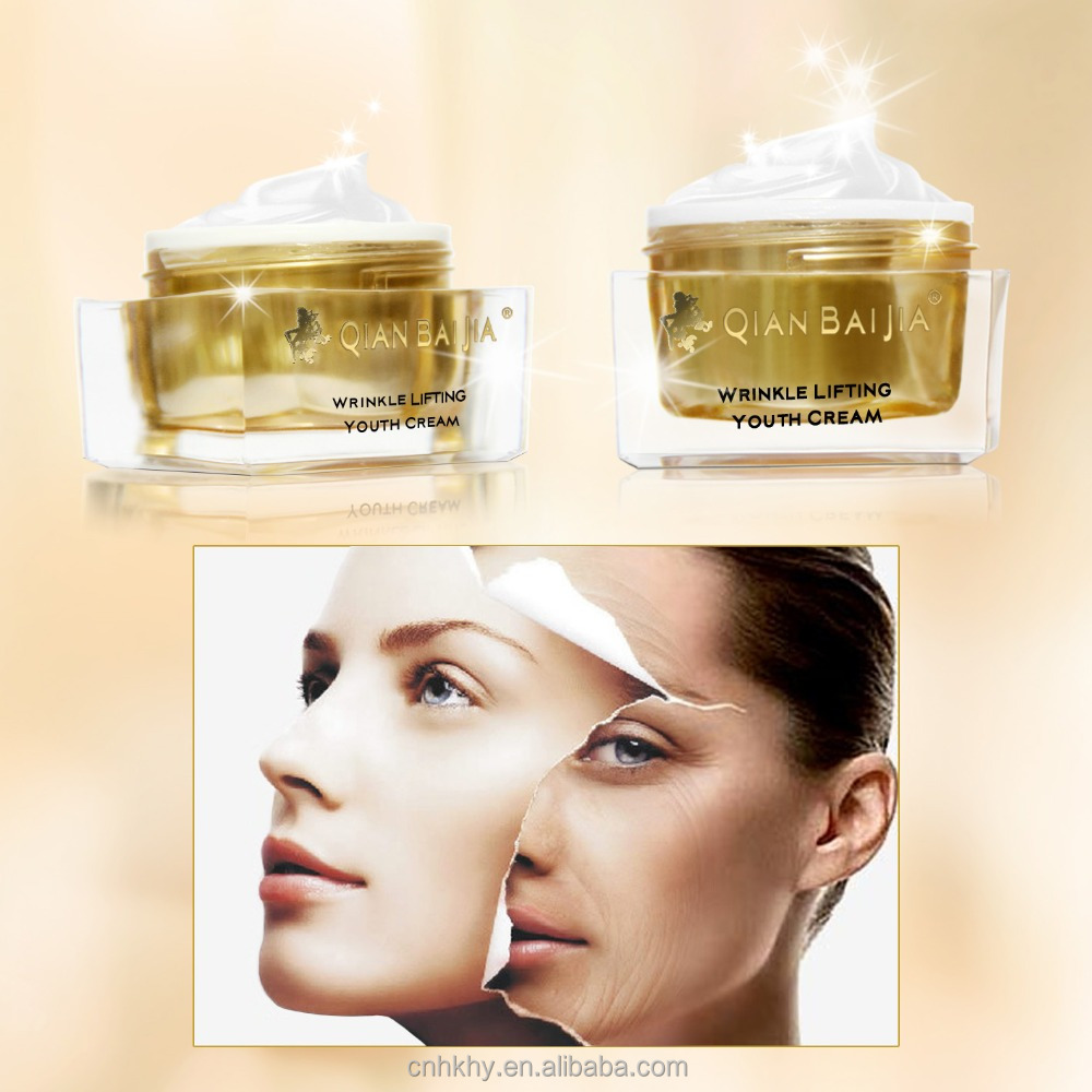 Natural private label wrinkle lifting youth cream anti wrinkle anti aging whitening cream dark spot removing cream