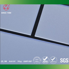 Frosted High quality Polycarbonate plastic sheet flexible led light diffuser
