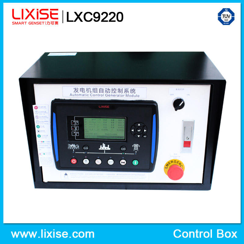 LXC9220 diesel generator parts of electrical control panel