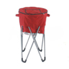 China manufacturer outdoor water-proof folding ice bag with stand cooler
