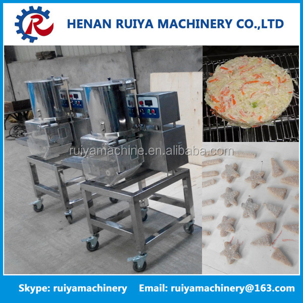 Meat Pie Making Machine Patty / Beef Steak / Chicken/ Fish Meat Processing Line