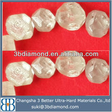 Synthetic white diamond,white rough diamond,white synthetic diamond for Wedding Decoration