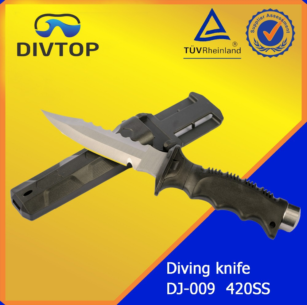 Divtop Diving Knife Customize Dive Knife Diving Equipment