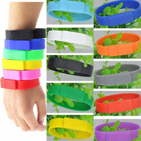 4GB/8GB/16GB/32GB Strap Hand Wristband USB Flash Stick Pen Drive