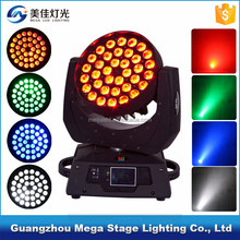China led dmx 5in1 rgbwa 36x10 led cobra led moving head wash