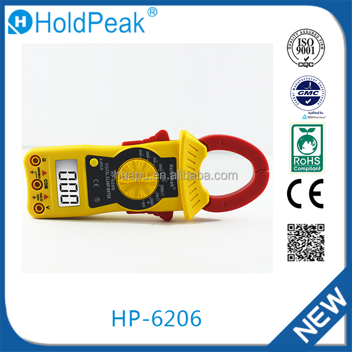HP-6206 Made in China high quality ac leakage current clamp meter
