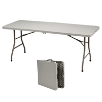 wholesale new style rectangle adjustable folding picnic dining table