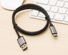 Type C Cable USB 3.1 Type C Reversible (USB-C) to USB 3.0 Cable for the New Macbook , ChromeBook Pixel