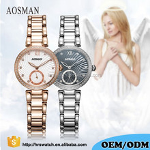 China manufacturer Christmas gift watch lady brand watch with Rhinestones for women