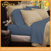 Home textile 100% Antibacterial Bamboo fiber microfiber sheet set , China home textiles manufacturer for luxury SHERATON Hotel