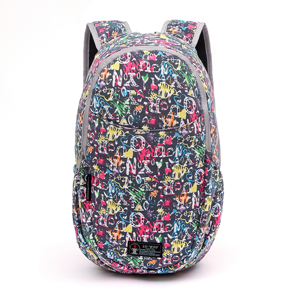 nylon backpack retro Women Backpacks New Fashion Nylon For school bag new models bag